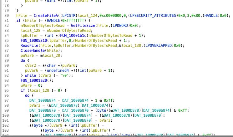 image: MyStart decompiler focus